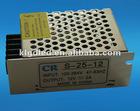 Maximum 25W 12VDC constant voltage LED driver
