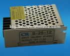 Maximum 25W 12VDC constant voltage LED driver