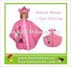 KRP006 Kids Unique Design Cute Printing Rain Poncho