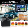 2.8 inch LCD portable dual lens car camcorder dvr