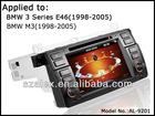 In Dash 1 Din Car DVD GPS Navigation for BMW E46