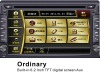 """Ordinary 2 DIN car DVD GPS with 6.2"""" TFT Screen and Bluetooth"""