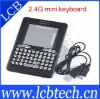Blcak 2.4 G Mini Wireless Handheld Keyboard