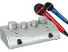 HD-N1 silver karaoke mixer amplifier