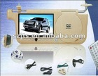 car Sunvisor TV 7 inch LCD monitor DVD Player with FM SD USB Game