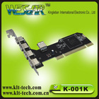 USB 2.0 PCI Card(4+1)