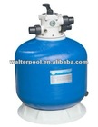 Swimming Pool Top Mount Fiberglass Sand Filter -CT Series