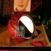Q045-80Antique Desk Cosmetic Mirror