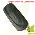 High Quality Appearance Fashion and Good Compatible Large Sports Car All in 1 Card Reader