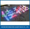 Frontlit RGB lighting led letter