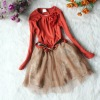 FREE SHIPPING!2012 SPRING NEW ARRIVAL,HOT SALE!GIRLS SPRING FASHION DRESS,GIRLS PRINCESS DRESS,GIRLS TUTU DRESS,CHILDREN'S TUTUS