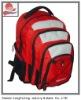 folded traveling canvas bag