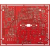 6 layer red motherboard PCB, immersion gold