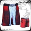 Men's fashion short 100% polyester printed mma shorts