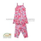 Flower pajamas women
