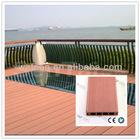 doublefaced decorative wpc decking floor tile