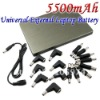 Hot sale free shipping 5500mAh Universal External Laptop Battery (IP-668)
