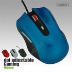 OPTICAL FAST GAMING MOUSE HIGH PRECISION 2400 DPI WINDOWS XP VISTA & 7