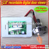 """2.8"""" touch screen digital door peephole viewer with super IR night vision"""