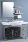 Green-environmetal stainless steel bathroom cabinet