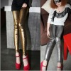 2012 womens lady queen gold slim leggings pants casual pencil pants