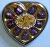 R-010P 10PCS Heart Chocolate
