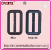 Imitation Leather Black Nylon Character Buckle