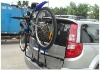 2012 best-sold 5-bikes welding steel car bike racks / bike rack for car 3-bike carrier
