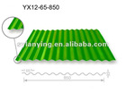 Stock Colored galvanized corrugated steel sheet