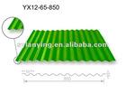 Stock Colored galvanized corrugated steel sheet
