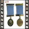 Bar Pin Medal With Drape Ribbon