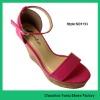 2012 Lady's high heel sandals PU upper