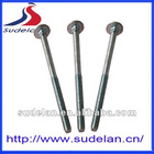 DIN 603 M8*40 Zinc-plated 8.8 flat head carriage bolt