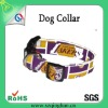 wholesale cheap custom colorful pattern dog collar/leash