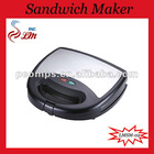 Black Electric Heat Insulated Sandwich Toaster