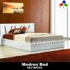 Modern Bedroom Gloss White Bed Frame