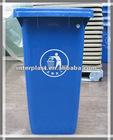 120Litre Plastic Dustbin Plastic Waste Container Plastic Wheelie Bin