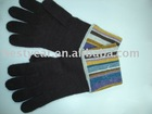 100% cashmere knit gloves