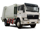 HOWO 4x2 compressed garbage truck