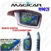 english version magicar car alarm M902F