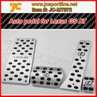 Aluminum alloy Modified car brake pedal assembly for Lexus GS