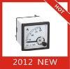 NEW 76*76MM ac analog ammeter