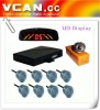VCAN0325/Rainbow LED Display Parking Sensor