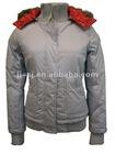nylon jacket,double face lady jacket