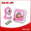 3.5 Inch Wireless Night Vision Baby Monitor and Remote Control Built-in Microphone