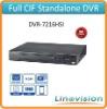 Economic 16 channels full CIF mini 1U standalone DVR, DVR-7216HSI