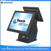 Easy Option 2nd LCD Monitor or Dual Display POS system / EPOS Solutions Dual Core Duo Touch screen POS system (Point of sale)