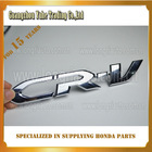 for CRV High Quality head and back decorative Silver Aluminum Emblem auto logos with names ABS manufacturer
