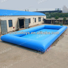 2013 fanatic inflatable rectangular swimming pools