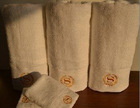 100%cotton terry fabric hotel towel